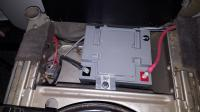 Wheelchair Battery under drivers seat