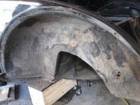 Redoing protection of the wheel arch