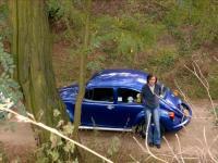 ..Magda & her mexico bug.. :)
