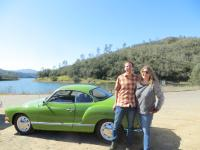 Kathy's 1971 Ghia at Lake Hennessey California 94574