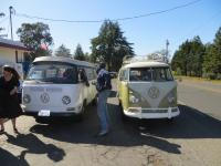 Adam's 1959, and a 1971 Westy