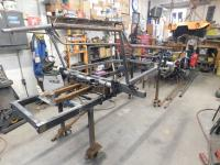 Chassis re-build for Puzzle Manx Buggy