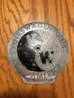 Vintage Volkswagen Club of America badge
