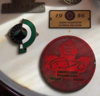 Original CASC badge which began racing in Canada.  Made for my father Marshall Green by Jack Luck
