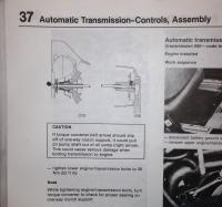 Automatic transmission warning