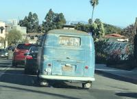 Spotted this nice patina bus