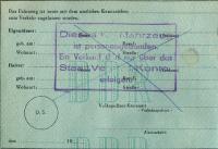 DDR Original German Paperwork