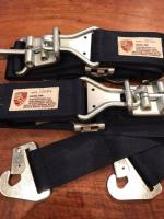 Custom latch belts