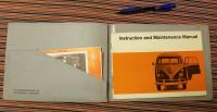 1967 Bus Tourist Delivery Manual with protective cover