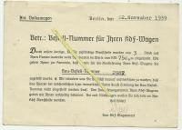 1939 KDF purchase receipt