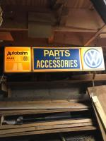 Lighted Parts and Accessories Sign