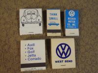 VW Matchbooks