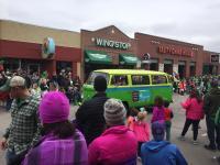 Wild Westerner in Parade