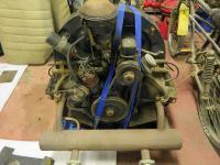 VW february 1954 engine