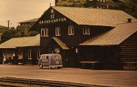 Barndoor at the ATSF Depot Grand Canyon National Park