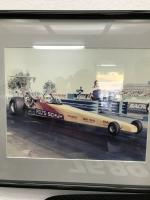 Tom Schuh and Dave Folts dragster