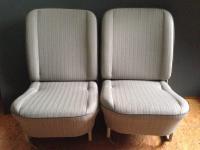 Original material seats