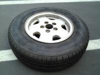 Hankook RA08 Tire Blowout