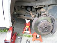 Eurovan frame jack point