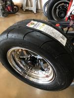 Sticky tires