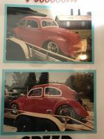 54 oval drag car.
