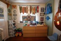 My sons Empi / Bus themed room!