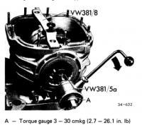 Torque wrench gauge