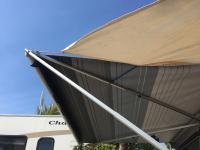 rain fly with awning