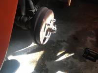 Leaking Wheel Cylinder 1974 Super Beetle