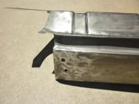 58 Ghia rear apron section