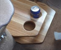 Cup holder console