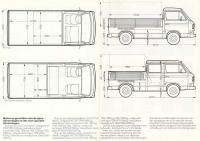 double and single cab dimensions