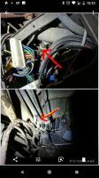 Brake vacuum line