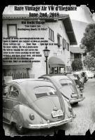 Rare Vintage Air VW d'Elegance - June 3rd, 2018 - HB, CA