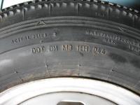 Dunlop B7 Rayon 600-15 Tubeless