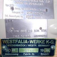 No port code, Westy code German delivered SO42