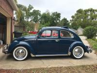 1960 Indigo Blue Ragtop post rear torsion adjustments