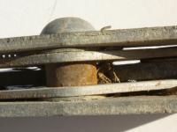 Ghia convertible latch mechanism rivet removal