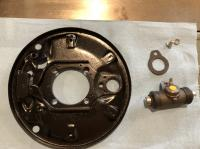 '68 and newer rear drum brake assembly