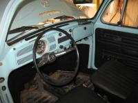 71 Bug padded dash converted to Metal Dash Finished