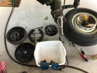 1967 Westfalia Brake Work