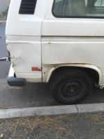 Collision damage
