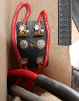 Aux Fuses for Camper on LH wall behind Driver's seat