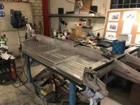 W30/26 chassis restoration begins