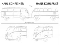Comparison Sketch - Kohlruss vs. Schreiner Barndoor