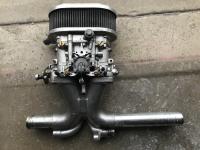 DRLA 40 manifold closeup