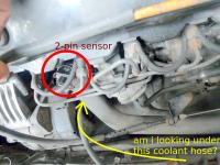 Coolant sensor search