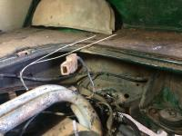 1970 Automatic Fastback FI broken wires