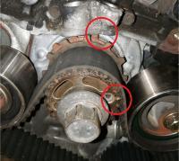 SVX Timing belt alignment marks