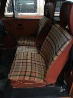 Repadded original front seats